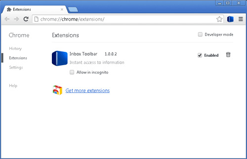 Inbox Toolbar - Instant access to information