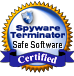Spyware Terminator Safe Software Certificate