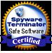 Spyware Terminator Safe Software Certificate